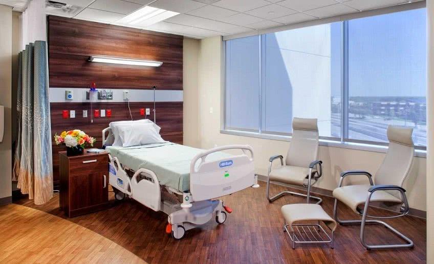 Выходные в палате больницы