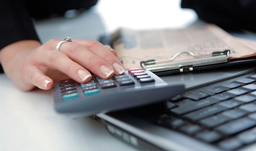 Подсчет бухгалтером размера выплаты