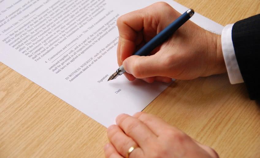 Образец доверенности на подпись