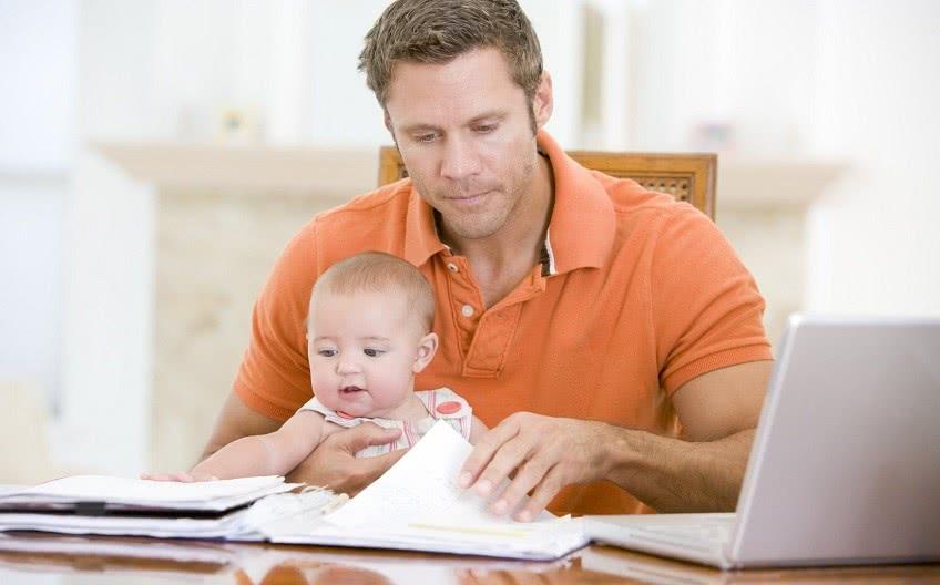 Платят ли отцу декретные