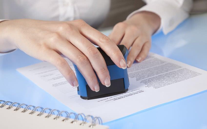 Регистрация печати в налоговой