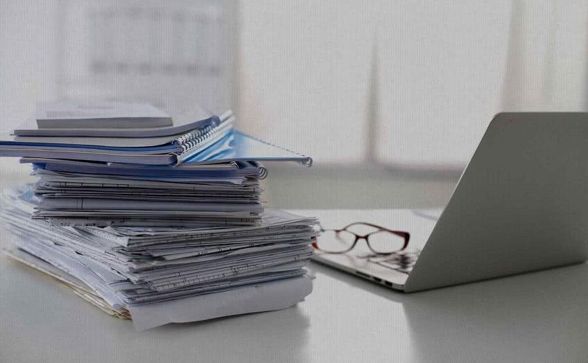 Оформление документов организации