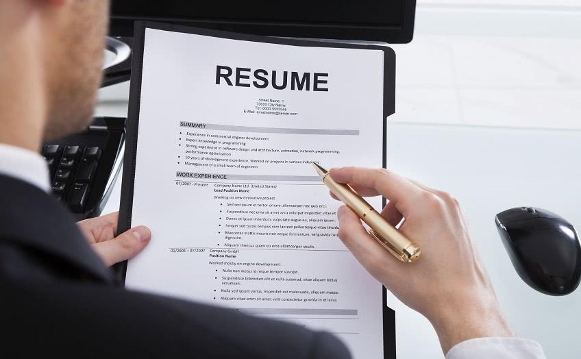 Резюме для трудоустройства