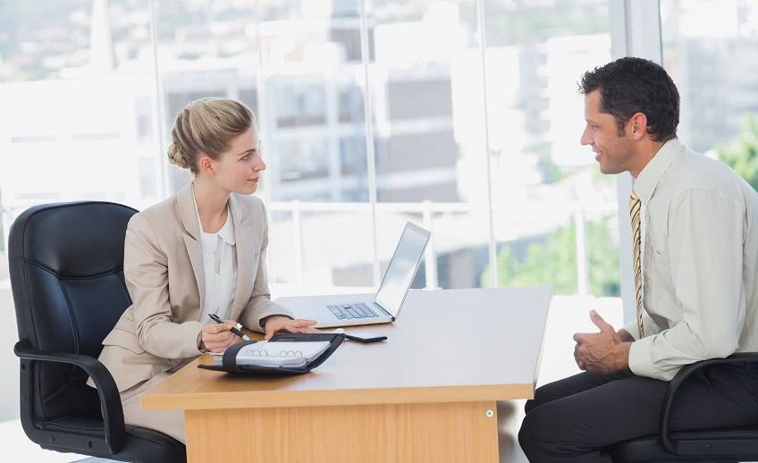 Начальный этап трудоустройства - собеседование
