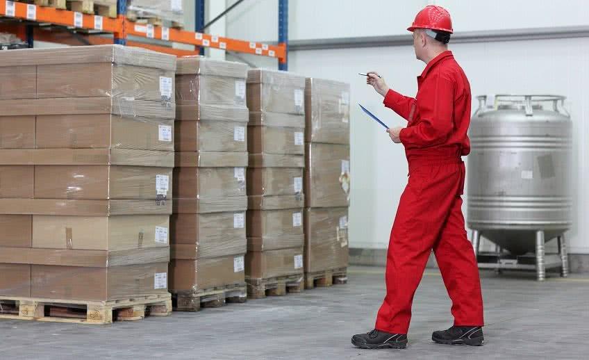 Контроль за материалами на складе