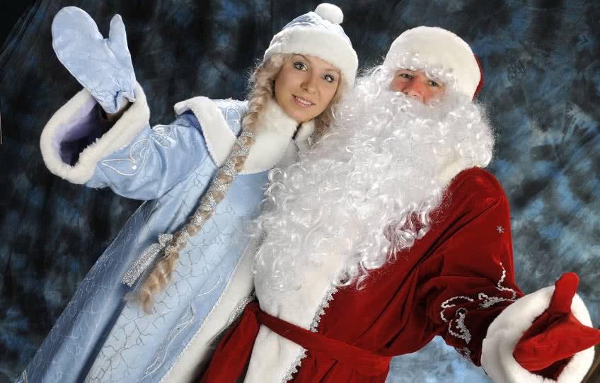 Бизнес Дед Мороз и Снегурочка