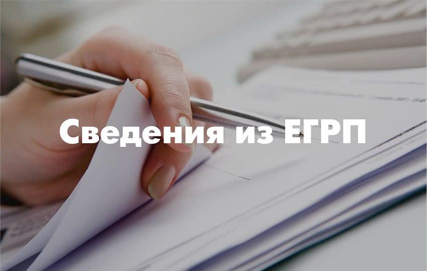 Какие сведения содержит выписка из ЕГРП
