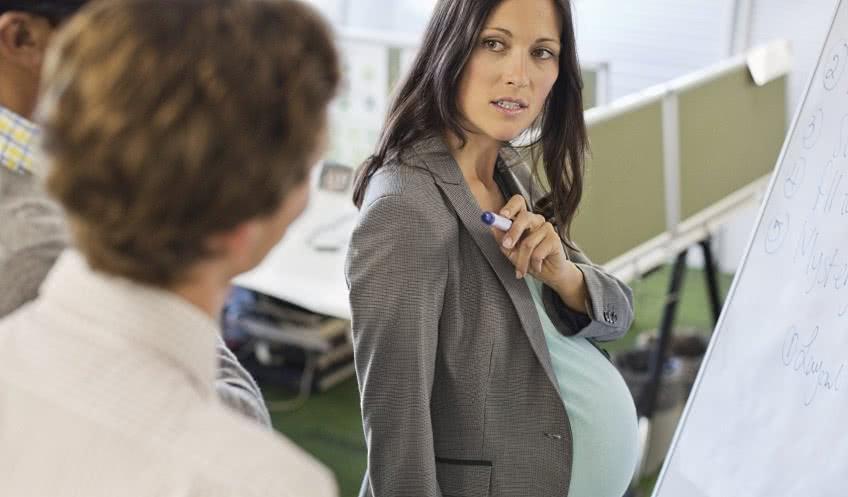 Заставляют беременнную уволиться