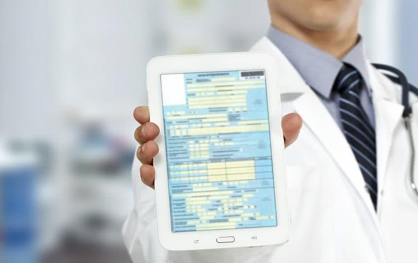 Электронный больничный лист