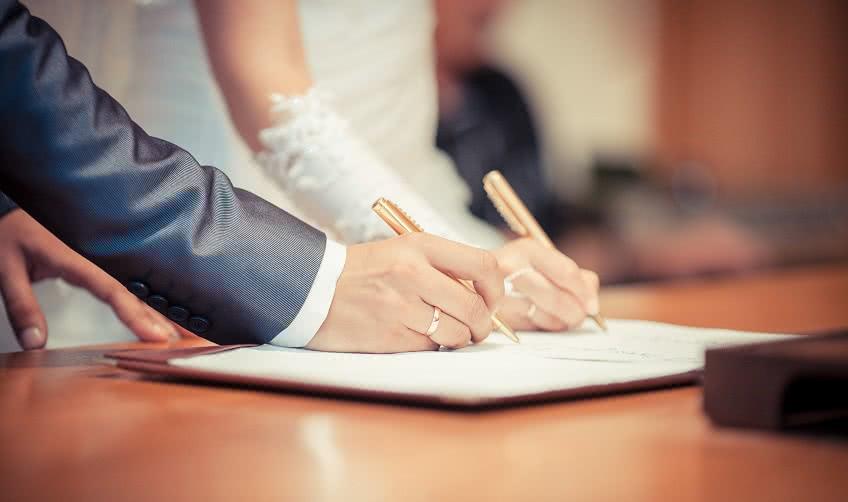 Процедура регистрации брака в ЗАГСе