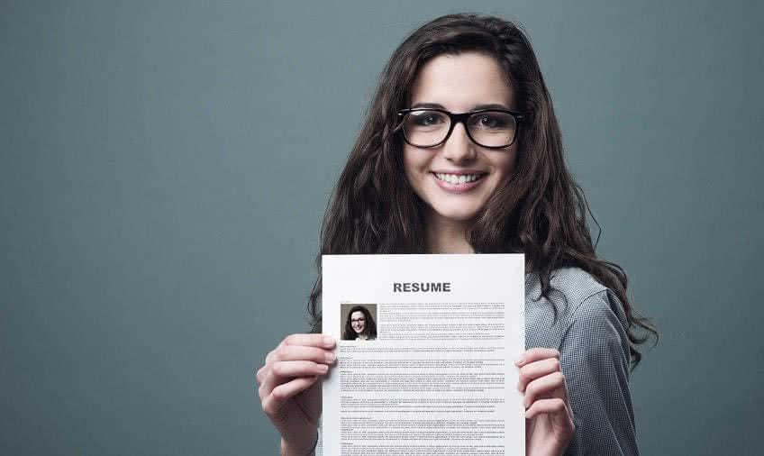Пример резюме студента без опыта работы