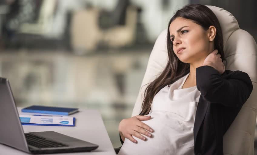 Возможно ли сокращение беременной женщины?