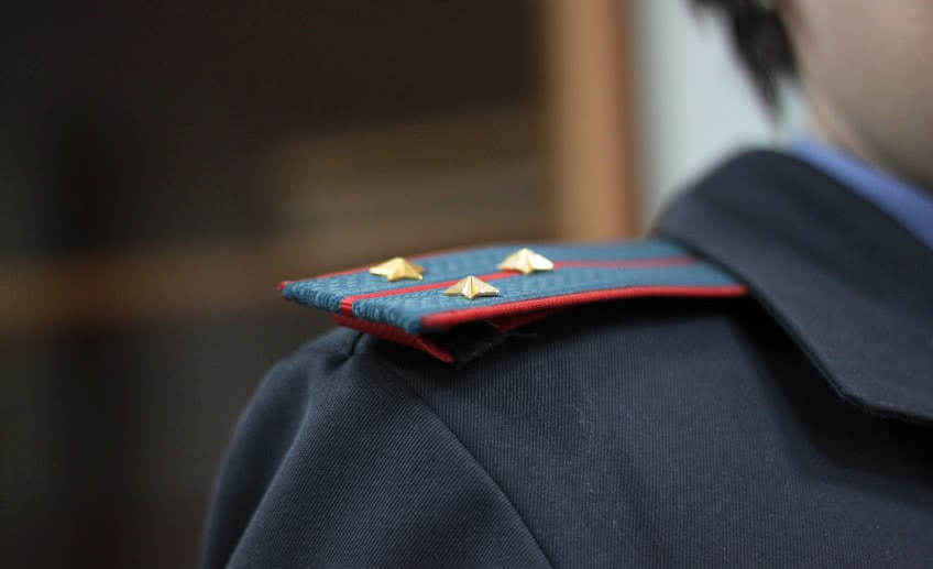 Выговор за грубое нарушение трудовой дисциплины полицейским